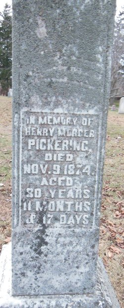 Henry Mercer Pickering