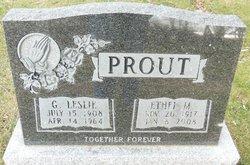 Ethel M Prout