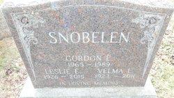 Gordon E Snobelen