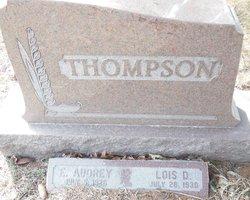 Edith Audrey Thompson