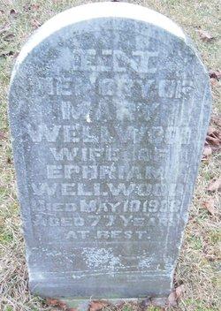 Mary <I>Henniker</I> Wellwood