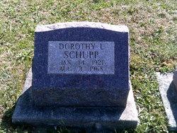 Dorothy L <I>Mizer</I> Schupp