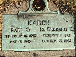Karl O Kaden