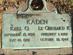LT Gerhard K Kaden