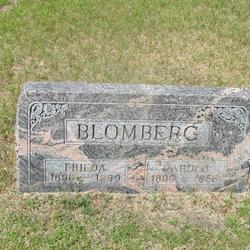 Frieda <I>Ott</I> Blomberg