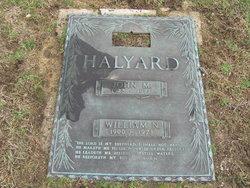 John M Halyard