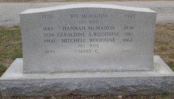 Mary C. <I>McMahon</I> Woodbine