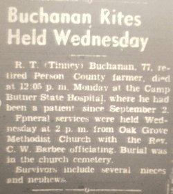 Robert Tinsley Buchanan