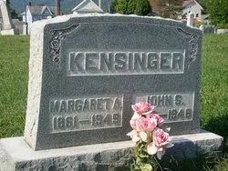 Margaret A. <I>Gorsuch</I> Kensinger
