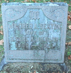 Mildred A. <I>Sexton</I> Milbank