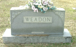 Sallie Lou <I>Dabbs</I> Weadon