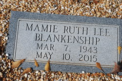 Mamie Ruth <I>Lee</I> Blankenship