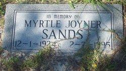 Myrtle <I>Joyner</I> Sands
