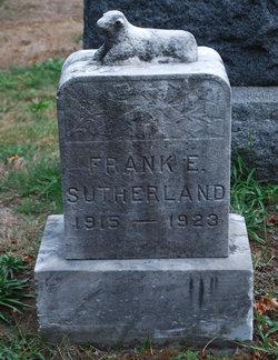 Frank Esdale Sutherland