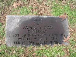 SSGT James S. Ray