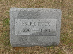 Ralph Thomas Fox