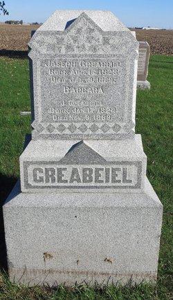 Barbara <I>Rediger</I> Greabeiel