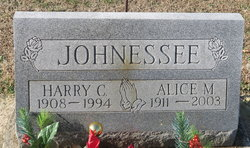 Alice M Johnessee