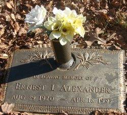 Ernest Issac Alexander
