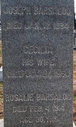 Cecilia <I>Kenny</I> Barsalou