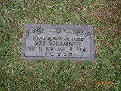 Max Schlamowitz