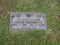Hannah Schlamowitz