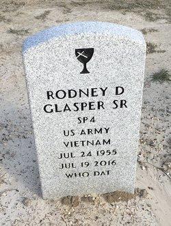 Rodney D Glasper, Sr