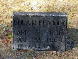 Lula M <I>Creech</I> Peacock