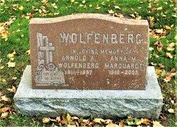 Anna Maria <I>Marquardt</I> Wolfenberg