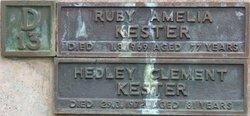 Hedley Clement Kester