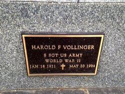 Harold Francis Vollinger