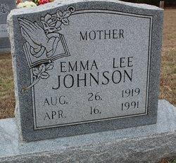 Emma Lee <I>Hopson</I> Johnson