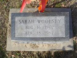 Sarah Woolsey