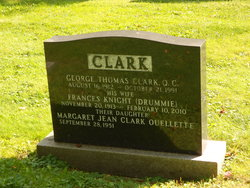 Frances Knight <I>Drummie</I> Clark