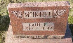 Paul E McIntire