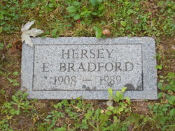 Hersey E. Bradford