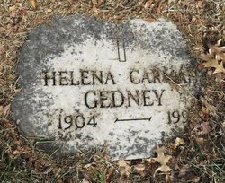 Helena Carman Gedney