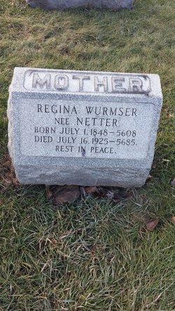Regina <I>Netter</I> Wurmser