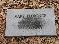 Mary Florence Newman