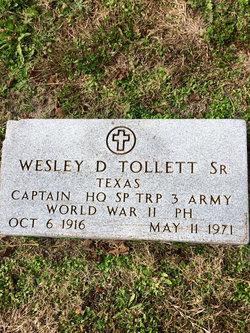 CPT Wesley Dodson Tollett