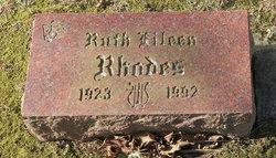 Ruth Eileen Rhodes