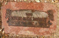 Bonnie Ruth <I>Hanby</I> Raphael