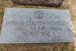 Donald Clayton Nicholson