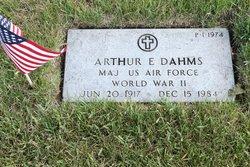 Arthur E Dahms, Jr