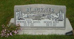 Bertha Mae <I>Keyes</I> Blackner