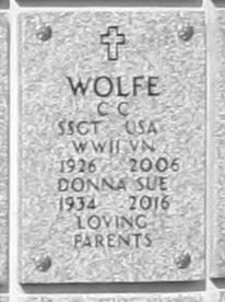 C C Wolfe