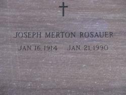 Joseph Merton Rosauer