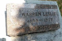 Warren Leslie Wright