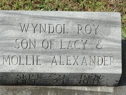 Wyndol Roy Alexander