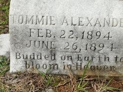 """Thomas """"Tommie"""" Alexander"""